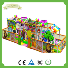 Small indoor plastic children's playground , commercial playground equipment sales