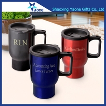 High quality tumber metal thermal car water tea thermos coffee travel mug