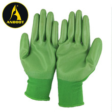 cheap waterproof smooth nitrile coated oil resistant industrial work gloves