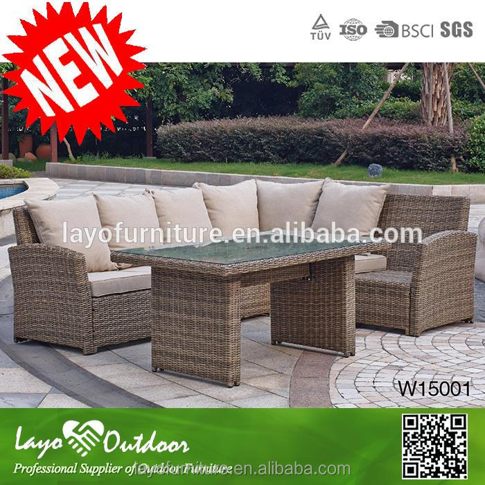 2 year warrantee promise garden series wholesale relaxing rattan furniture hotel sofa outdoor furniture cushions