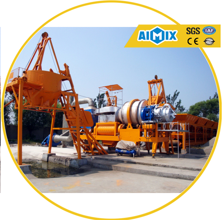 Road Machinery QLBY-20 Asphalt mixing hot mix plant manufacturer