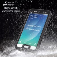 2016 newest product waterproof funtion under water protect case for samsung galaxy s7