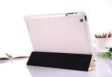 Luxury Pattern Leather Case for apple iPad 4 3 2 Magnetic New Smart Cover Stand, Best Microfibre Protection Inside