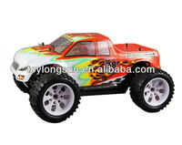 Powerful Brushless SP03302 Motor 1/10th Scale 4x4 Electric RC Big Truck