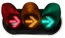 trafic signal lights 0.5mm dip led color in red yellow and green