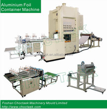 Full-auto. Aluminum Foil Food Container Making Machine