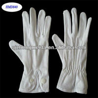 White Waiter Cotton Gloves Inspection Gloves Jewelers Gloves