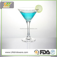 Customized high quality plastic martini glass