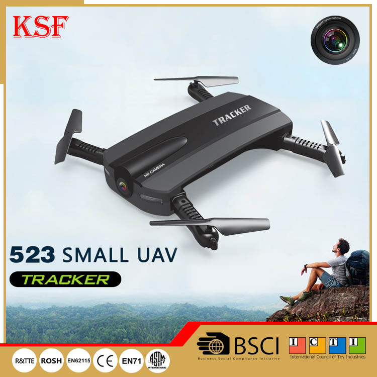 JXD Tracker 523 Foldable Mini Rc Drone with Wifi FPV 720P HD Camera Altitude Hold Headless Mode