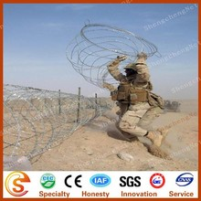 Security fencing barbed wire/concertina razor barbed wire safety barricade balusters