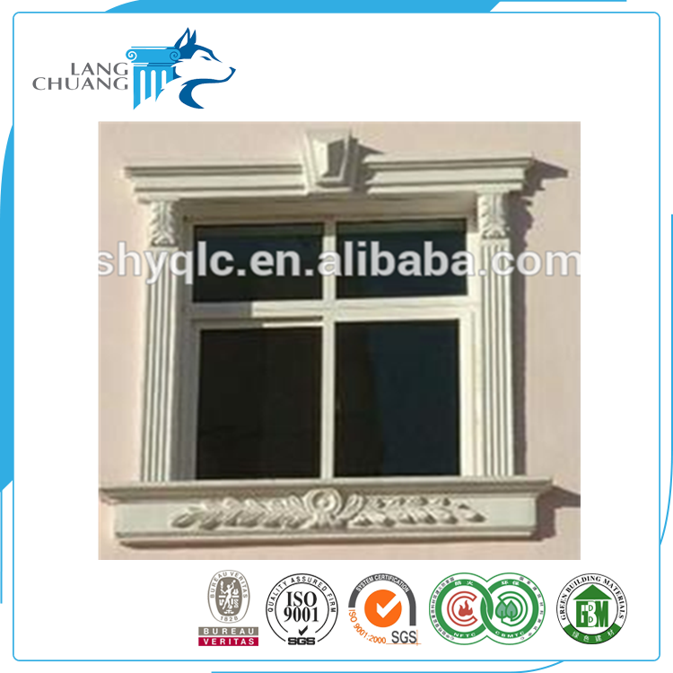 Wholesale Price GRC Building Material Aesthetic Design Window Frame