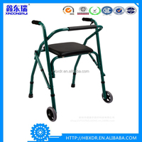 Anodized Aluminum Frame Walking Aid elderly Walkers