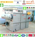 Dissolved air floating machine for dairy factory sewage treatment