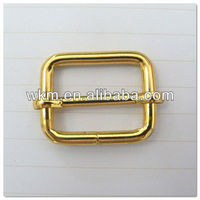 "Buckle Slide and Rectangular Loop 1"" for Bag Adjustable Strap"
