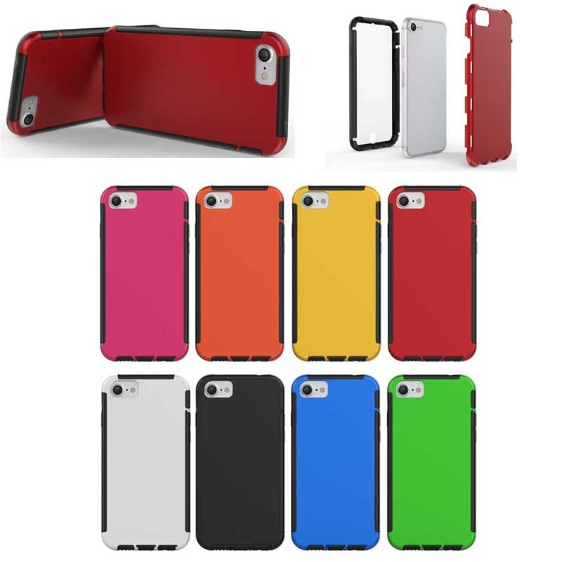Multiple color durable 3 Defender TPU+PC Case for iphone 7