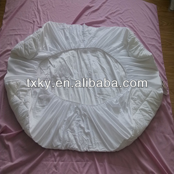 poly/cotton jacquard mattress cover