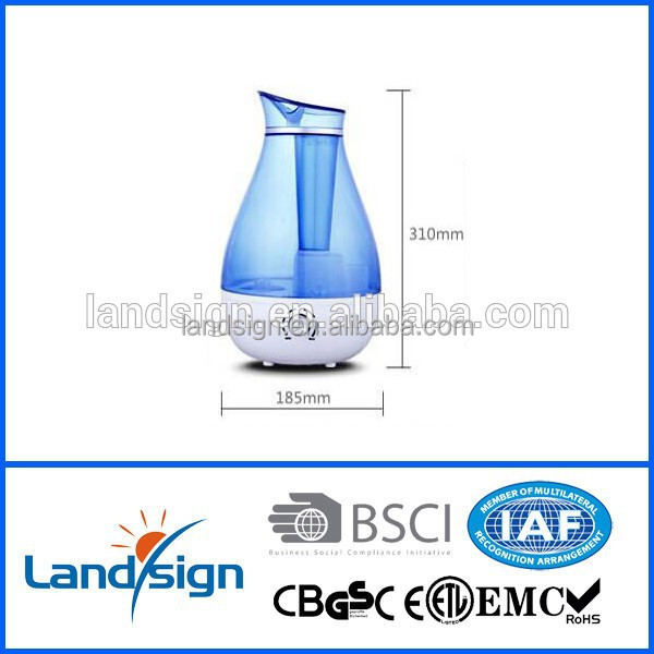 Golden supplier warranty humidifier mist maker type night light + humidity manual control design humidifier machine