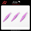 Cute Dots Plated Curled Metal Tweezers Popular Slant Tip Personalized Eyebrow Tweezers