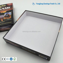 Custom Made Blank Board Game Boxes And CMYK Printing Board Game Box