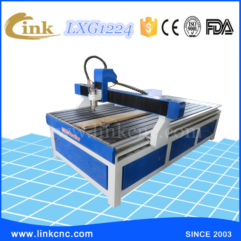 LXG1224 2D 3D cnc router for wood kitchen cabinet door/cnc router machine 1224 1325/HIWIN square rails for cnc machine