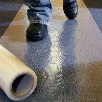 floor carpet protection clear PE plastic protective film
