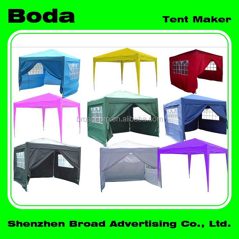 2x3m, 3x3m, 3x4.5m, 3x6m heavy duty pop up tent for outside used