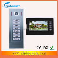 8 homes direct calling button interphone with camera