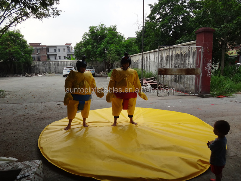 durable and funny giant portable inflatable sumo wrestler costume,inflatable fighting sumo suit