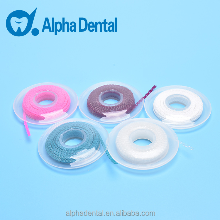 Dental Orthodontic Plastic Power Elastic Chain