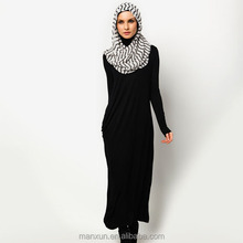 Whole Black Ladies simple fashion dress for UK Girls