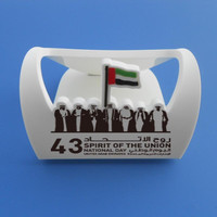 UAE National day 7 Chieftains and flag design soft pvc phone holder with phone