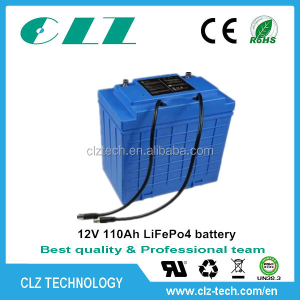 High quality maintenance free 12V lithium car battery price