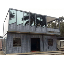 eco containerized houses prefabricated house price in algeria plastic garden storage house