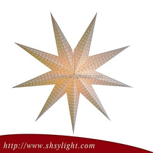 High Quality New Products Christmas Wire Star Ornaments