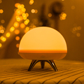 Rechargable patting switch decorative LED atmosphere table lamp
