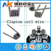 Alibaba China prebuilt vape coil alien wire pre-made fused clapton coil vaping