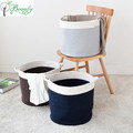 Household Foldable Cotton Rope Storage Organizer Bin