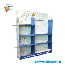 Top Quality Custom Printed store retail cleaning supplies display rack