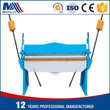Hand Operated maunal segment blade Pan and Box bending Machine and small press brake