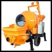 Affordable Concrete Mixer Pump Trailer Hydraulic Portable Concrete Mixing Equipment Grout Cement Skid Steer Concrete Pump