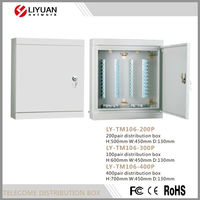 LY-TM106-400P 2015 China High Quality Electrical Distribution Box Size H:700mm W:450mm D:130mm