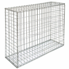 welded gabion baskets 80x60 gabion box 4x1x1 gabion box for sale