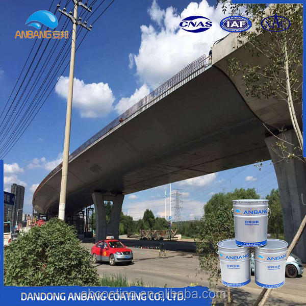 Steel bridge strong corrosion durable aging resistant epoxy micaceous iron oxide primer