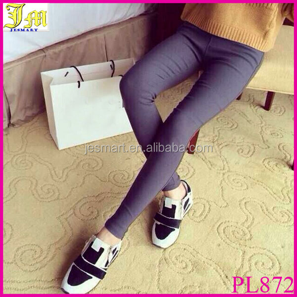 Fashion Women Casual Stretch Skinny Leggings Long Pencil Pants Slim Fit Tight Trousers