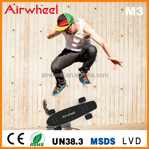 2015 Airwheel new products personal transporter M3 electric sport skateboard for adult