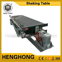 Best price alluvial gold bucket grabber coltan ore mining shaking table