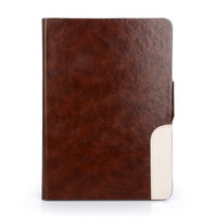 Simple design flip protective case cover pu leather for ipad air2 or for ipad 6