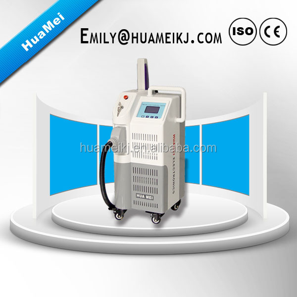 2016 Vertical Professional Q Switch 1064 nm 532nm ND YAG Laser