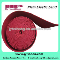 Red heavy weight elastic webbing for waistband