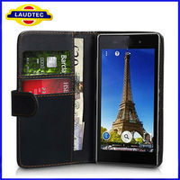 2013 Hot Selling Xperia Z1 L39H Wallet Case, New Products Flip Leather Case for Sony Xperia Z1 L39H